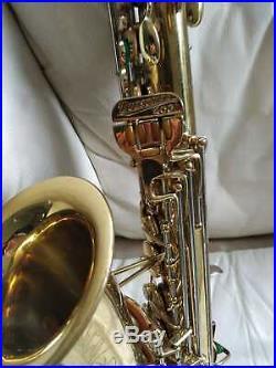 Buescher 400 Top Hat and Cane Alto Saxophone Sax B-7 317040 vintage
