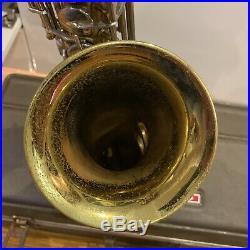 Buescher 70s Aristocrat Alto Sax Vintage Gold Saxophone With Original Case L@@k