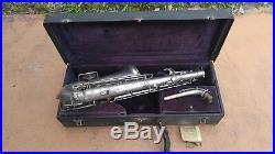 Buescher Low Pitch True Tone Alto Sax Saxophone