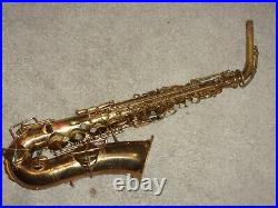 Buescher True Tone Alto Sax/Saxophone Plays Great