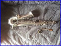 Buescher True tone Alto ES Sax 250XXX Silber / Innenbecher Gold sehr schön