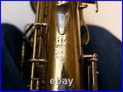Buescher Vintage Aristocrat Series 1'Art Deco' Alto Sax with Selmer Mouthpiece