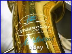 Bueschner Aristocrat Alto sax, LEFT SIDE BELL KEYS
