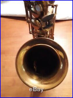 Buffet Super Dynaction Alto Sax, Original Lacquer, 1967, Play Great