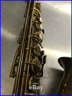 Bundy H&A Selmer Alto Sax-Made by Orsi In Italy Needs Overhaul For Parts Repair