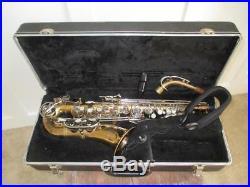 Bundy II Alto Saxophone With Case NICE SAX 2