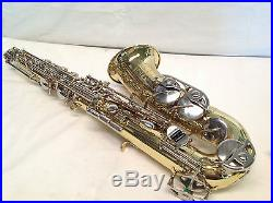 Bundy II Brass Alto Saxophone, Completely Restored With Fresh Lacquer! Half Off