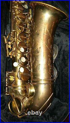C1950 Conn Constellation 28M vintage Alto sax saxophone like 6m