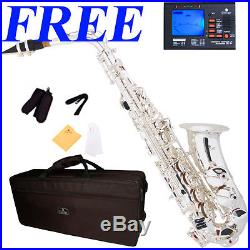 Cecilio As-380s Alto Saxophone Silver Plated Body/keys