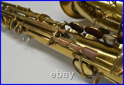 Cg Conn Alto Sax/saxophone With Case - Soldered-on Tone Ports