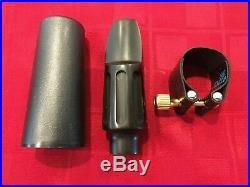Claude Lakey Apollo Series 7 Alto Saxophone Mouthpiece, Ligature, Cap Sax. 080