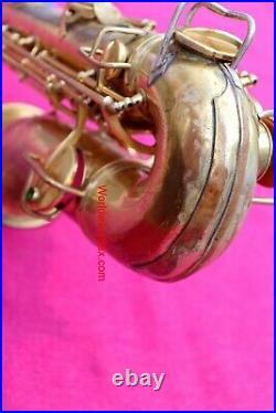 Conn 1926 New Wonder II Artist Eb Alto Sax, Gold Portrait #172k