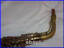 Conn 26m Connqueror VIII Alto Sax/Saxophone, Silver Inlay, Reso Pads, Plays Great