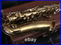Conn 6M Alto Sax Lady Face Microtuner Underslung Octave Key Recently Serviced