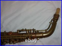 Conn 6m Transitional Alto Sax/Saxophone, Worn Vintage Laquer, Plays Great