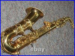 Conn 6m VIII Alto Sax/Saxophone, 1937, Naked Lady, Original Laquer, Plays Great