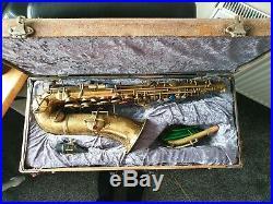 Conn New Wonder Chu Berry Alto Sax with Phil tone rift mouthpiece 1914-6 (gold)
