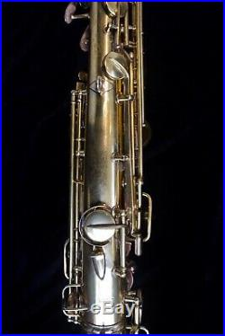 Conn New Wonder I Artist Special Gold Plated Alto sax Stunning engraving