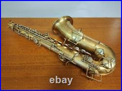 Conn New Wonder Series II Chu Berry Alto Sax Overhauled with New Protec Case