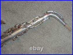 Conn Pan American Alto Sax/Saxophone, 1930, Original Silver, Plays Great