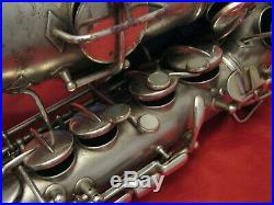 Conn Vintage New Wonder Silver Alto Sax. In Good Condition. Fully Repadded