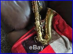 Conn alto sax 6m 1937 naked lady original lacquer amazing condition