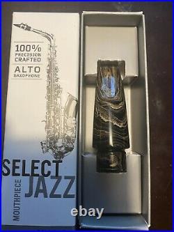 Daddario Select Jazz Marble Alto Sax Mouthpiece D6M-MB