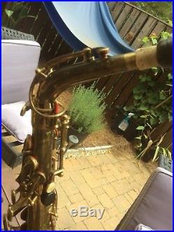 Dolnet Belair Alto Sax Original Lacquer Beautiful Sound W Golden Tone Selmer 3