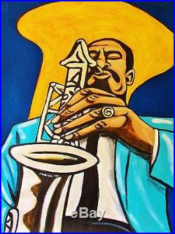 ERIC DOLPHY PAINTING jazz alto sax saxophone flute five spot cd town hall mingus
