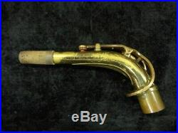 Early Selmer Paris Super Action 80 SII Alto Sax in Gold Lacquer- 395168