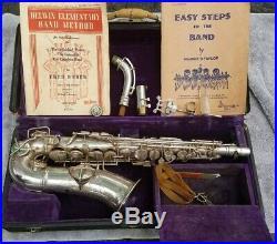 Early Vintage CG Conn Elkhart Alto Sax