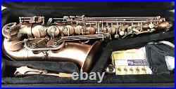 Eb Alto Sax In Brushed Copper Finish