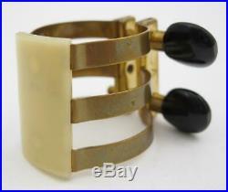 Echo Brass Alto Saxophone Ligature for Rubber Alto Sax Mouthpiece Brilhart Copy