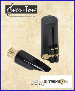 Ever-Ton Extreme Gold 7 Alto Sax Mouthpiece with Lig and Cap