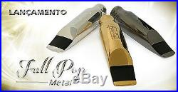 Ever-Ton Full Pop #7 Metal Silver Plated Alto Sax Mouthpiece Made in Brazil