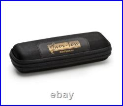 Ever-ton Full Pop 7 Metal Alto Sax Mouthpiece with Lig & Cap