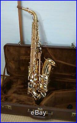 Excellent YANAGISAWA Alto Sachs ELIMONA 800 Alto Sax Bronze Brass Japan YSYS4