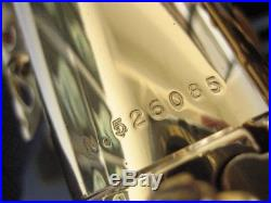 Extra-clean Selmer Paris Super Action 80 Series II Alto Sax, #526,085, NEW PADS