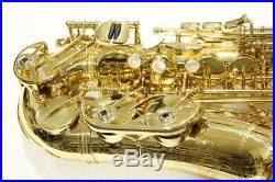 F/SNear Mint YANAGISAWA Alto Sachs Sax ELIMONA A991 Japan YSYS7