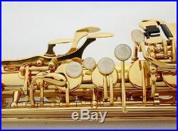 French Alto Saxophone+Professional Musical Instrument+Gold Sax Electrophores