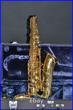Good Condtion Yamaha alto sax YAS-62 mouthpiece with hard case F/S #100306