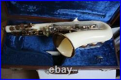 Grafton Alto sax re-padded in Playable condition