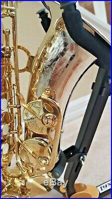 Guardala New York Alto Saxophone Sax Silver Bell and Neck! Rare