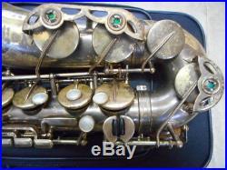H. Selmer France alto sax M-6 last mark 2102