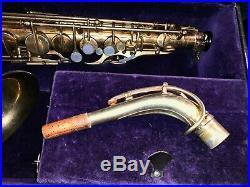 H Selmer Paris Original Gold Plated Cigar Cutter Alto Sax 15xxx Superb Good Pads
