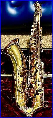 Henri Selmer Paris Mark VI Alto Sax, all Original includes org. Case/ all items