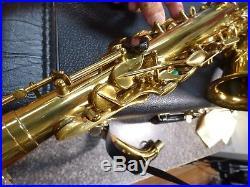 Henri Selmer Paris Mark VI Alto Saxophone 1958 Professional PRO SAX RARE 5-digit