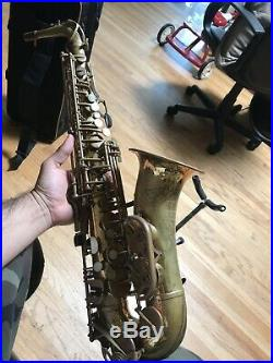 Heritage W. T. Armstrong By J. Keilwerth 1980s Alto Sax