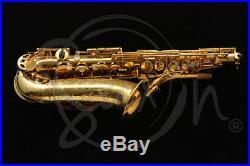 Jimmy Dorsey alto sax ORIGINAL GOLD PLATED