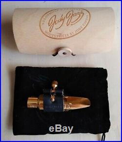 Jody Jazz DVNY alto sax 6 series mouthpiece gold plated (original box+ligature)